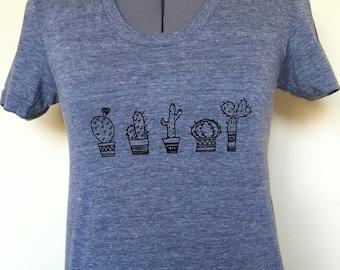 cactus Shirt,T-shirt,desert shirt,plant lady, sizes small medium large and large