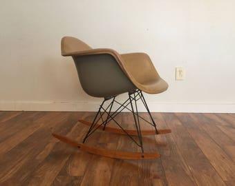 RAR Eames for Herman Miller Rocking Chair, 1950's