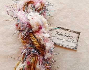 Sugar Pop pink white pom garland toffee twine rainbow tinsel glitter Fringe Trim Embellishment bundle