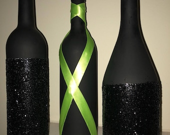 Sparkle and shine on wine bottles!