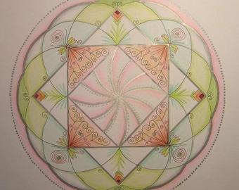 Mandala de l'équilibre original
