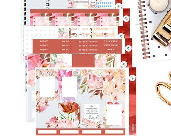 Lilith    Weekly Planner Sticker Kit   for Erin Condren Vertical Layout
