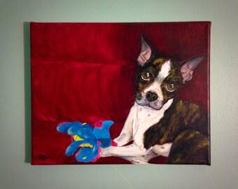 Hand Painted Pet Portraits!