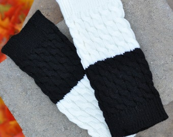 Black Reversible Boot Cuffs