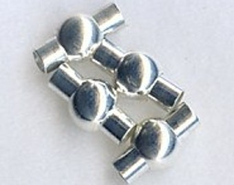 Round Ball Magnet Clasp for 4mm Tubing