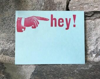 Hey! Notecards