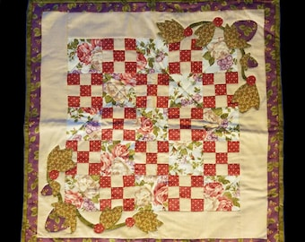 Square Quilted Table Topper