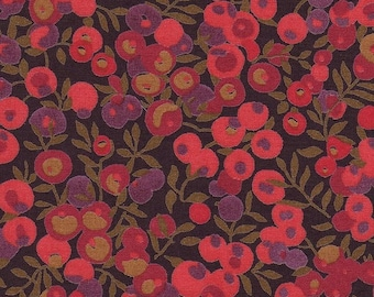 coupon plum pink LIBERTY wiltshire design fabric