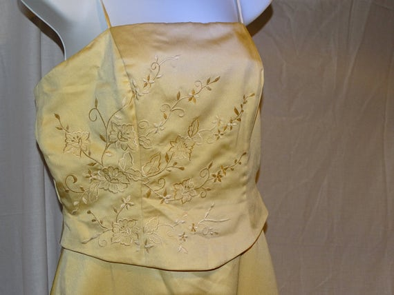 Amazing 1950s Vintage Forever Yours Formal Dress Size