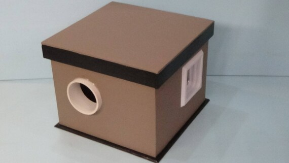 Feral Cat House/2 Door/heated, outdoor, bed, shelter,condo,sanctuary