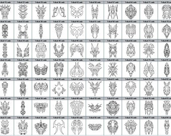 Engraving tribal pattern to customize your jewelry at my engraver