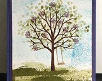 Blooming Tree Card- updated- added photos