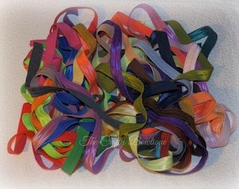 ONE Elastic Headband, Choose 1 Headband, Baby Headbands, Infant Headbands, Newborn Headbands, Stretch Headbands, Hair Bow Headbands