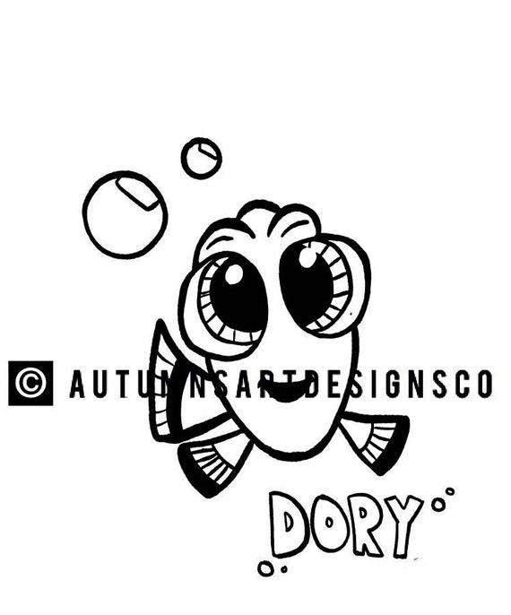 Suche nach Dory Malvorlagen