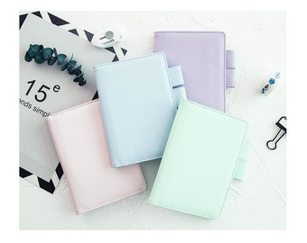 Hobonichi covers Pastel in A6 and A5