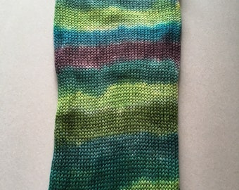 Hand dyed sock blank