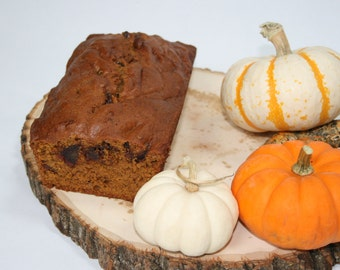 Pumpkin Bread with dates
