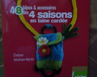 "Book ""the 4 seasons woolen 48 jewelry"""