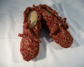 bed slippers, indoor slippers, slippers, T.38/39, bed or inside - perfect for cold and chilly.