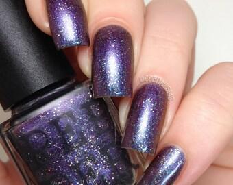 Purple Shift Chrome Nail Polish Glitter Nail Polish Bath And Beauty Gift For Her Gift Under 15 Pepper Pot Polish