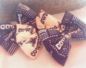 Dallas Cowboys Bow, Cowboys Bow, Cowboys Hairbow, Cowboys, Football