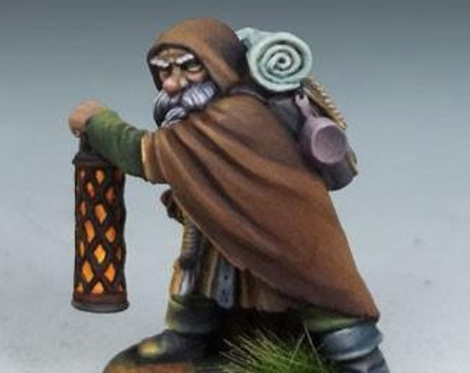 DiTerlizzi Masterworks: Grolsch, Dwarven Warrior - 4606 - Dark Sword Miniatures