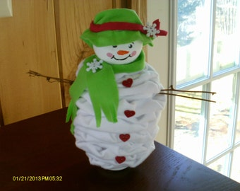 Mama YoYo Snow Lady