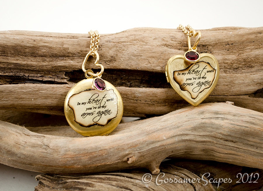 Memorial miscarriage necklace locket rememberance with zoom aloadofball Choice Image