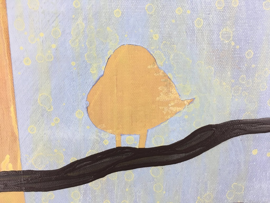 Birds On A Limb 2 Wall Art Series By Artist Rafi Perez Original Art ...