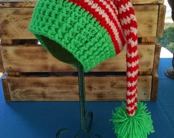 Santa's Helper Crochet Hat