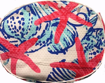 BERMUDA BAG COVER LillY She She Shells for my Ladies Bamboo Handle Bermuda bags Please Read Below