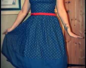 Choose your design-1950 pin up dress, CUSTOM MADE