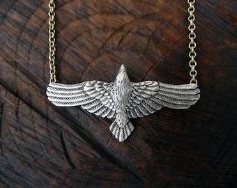 Raven Necklace - Crow Pendant - Ravens - Crows - Erebor - Norse - Viking - Pagan