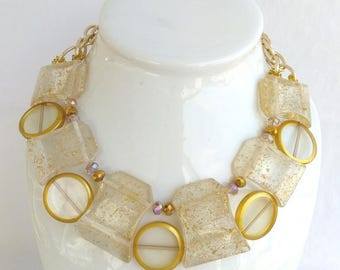 life the j clear lucite necklace bubblelicious bubble beauty rj graziano of r