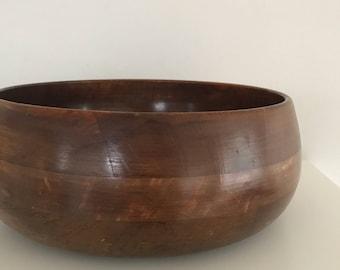 Vintage wood bowl, wooden bowl, wood bowl, wood salad bowls, wooden bowls, key bowl, table accents
