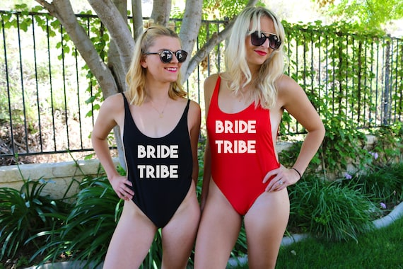 Bride Tribe One Piece Bathing Suit One Piece Bathing Suit