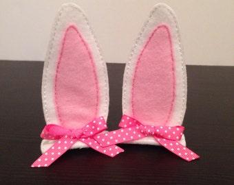Bunny Ears Hair Clippies