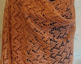 stole summer shawl accessory for summer holidays linen lace