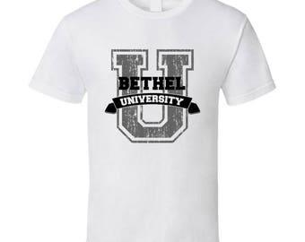 Bethel University Funny Name T Shirt
