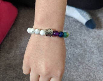 Kids size Paws for a cause bracelet