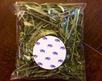 Organic Lemon Balm & Lemongrass Tea // Organic Natural Iced Tea // Herbal Foraged Tea //Organic Tisane // Native Tea