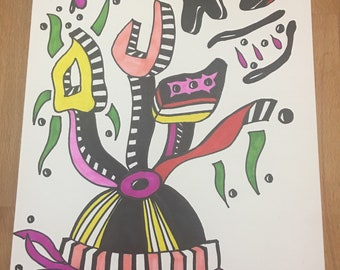 Untitled sharpie drawing