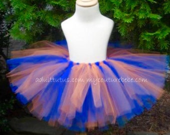Bright Blue and Orange Tutu Chicago Bears tutu