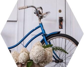 Blue Bike Magnet