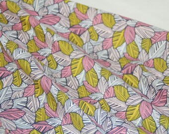 American cotton fabric - Rainforest Slumber - Blend Fabrics designer Katy Tanis - canopy of leaves - by 50cm (110 x)