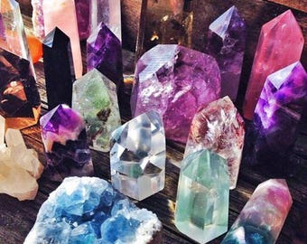 Discover your Spirit Power Crystal / Stone through Shamanic Reading by Alexshydria