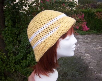 (Yellow) #Collection crochet hat was