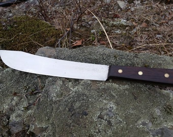 Vintage butcher knife