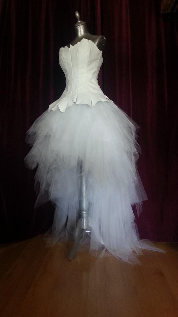 Old Fashioned White Leather Wedding Dress Images - Wedding Plan ...