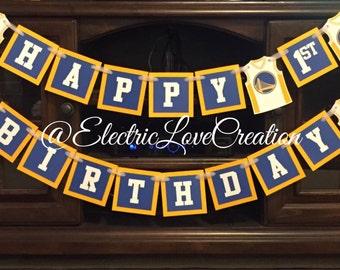 Golden State Warriors Birthday Banner